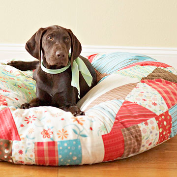 Cozy Quilted Pet Bed