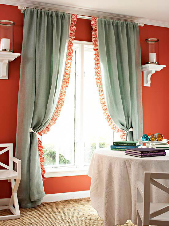 4 Ways to Personalize Curtain Panels