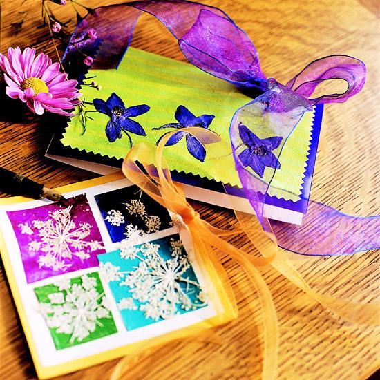 Pressed Flower Stationery