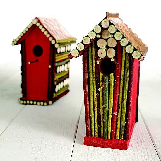 Create A Rustic Birdhouse