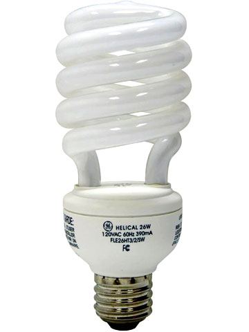 Recycling Compact Fluorescent Lightbulbs (CFLs)