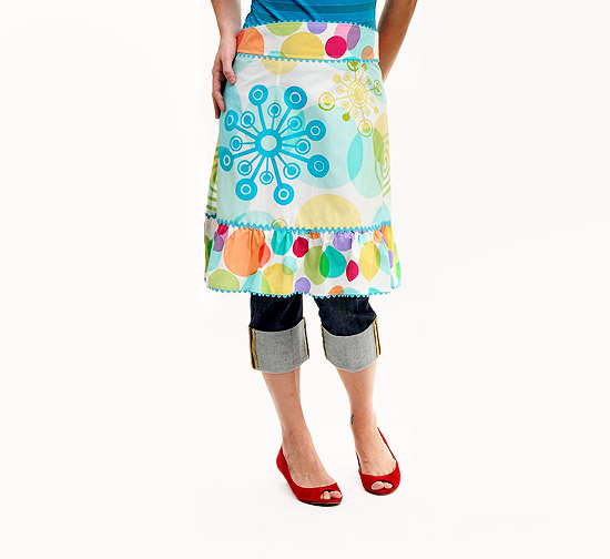 Easy Retro Apron