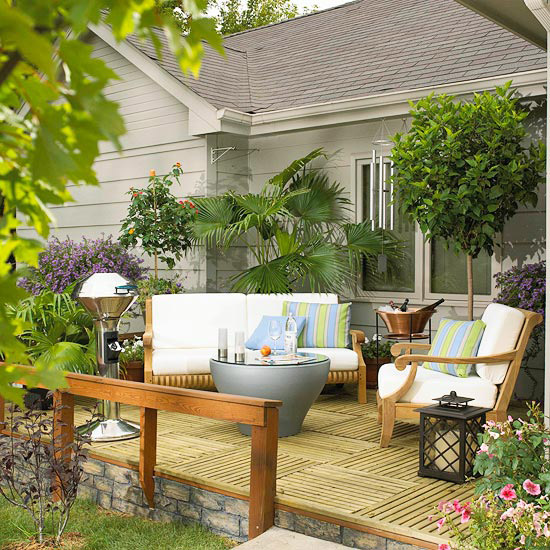 Inspiring before and after deck makeovers - Holzfliesen weiay ...