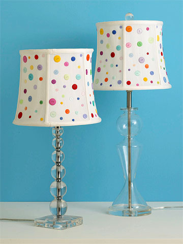 Easy Button Lampshade