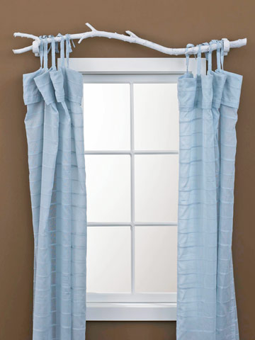 7 Creative Curtain Rods You Can Make Diy Ways To Personalize Your Window Treatments Better Homes Gardens