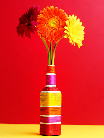 Easy Wrapped Vase