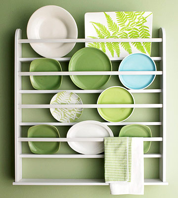 sc 1 st  Better Homes and Gardens & Plate Display Ideas
