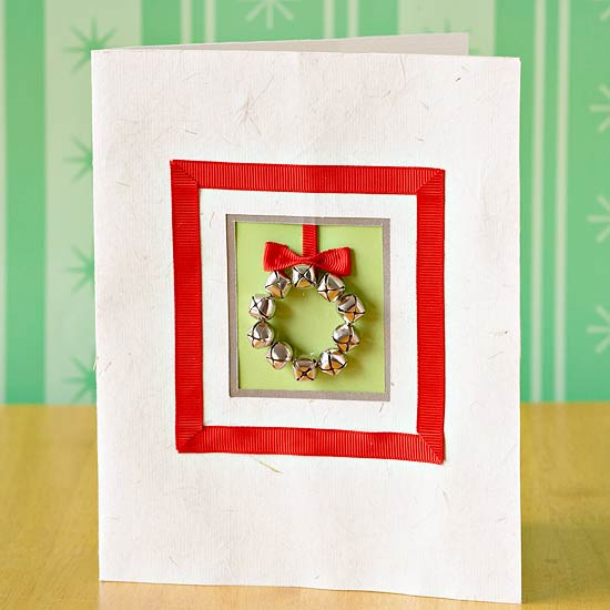 Jingle Bell Holiday Card