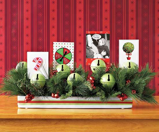 Jingle Bell Card Display