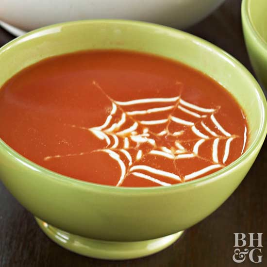 Spiderweb Soup Topping