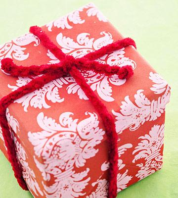 Make a Crocheted Ribbon Gift Topper