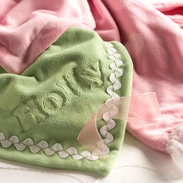 Easy Baby Blanket Trims