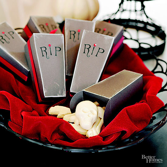 Coffin Party Favors