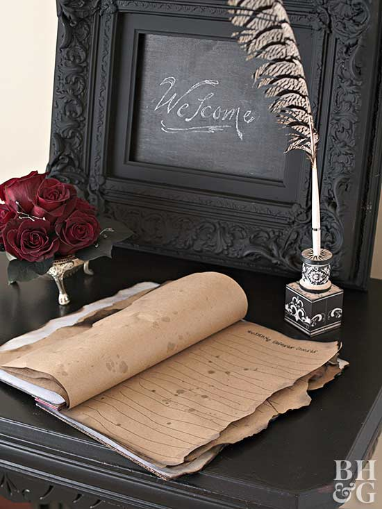 Hallowedding: Spooky Pen & Pencil Holder