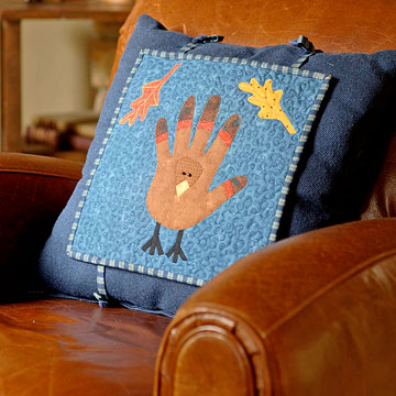 Sew a Pair of Halloween and Thanksgiving Pillow Toppers for Fall