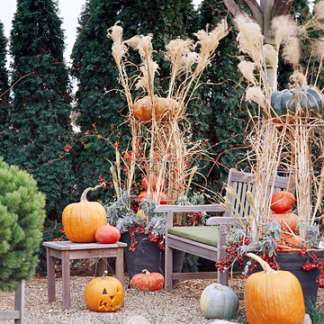 Create a Pumpkin Topiary