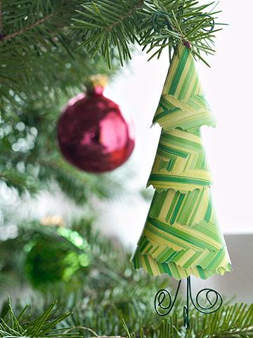 Make an Evergreen Tree Ornament