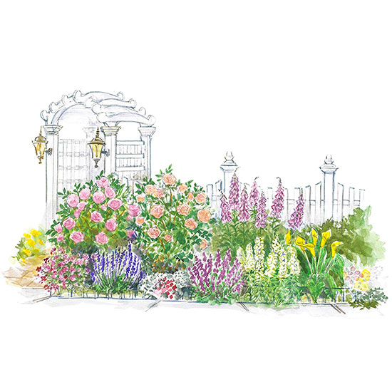 Fragrant Entry Garden Plan