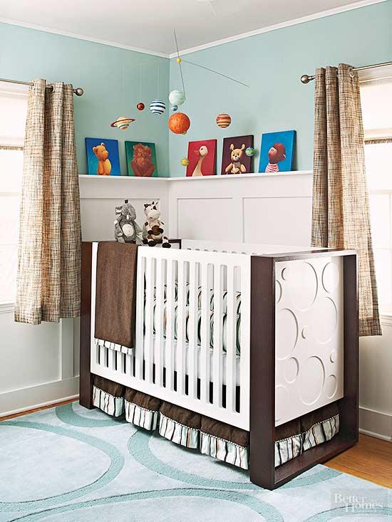 A Tiny Nursery With Style