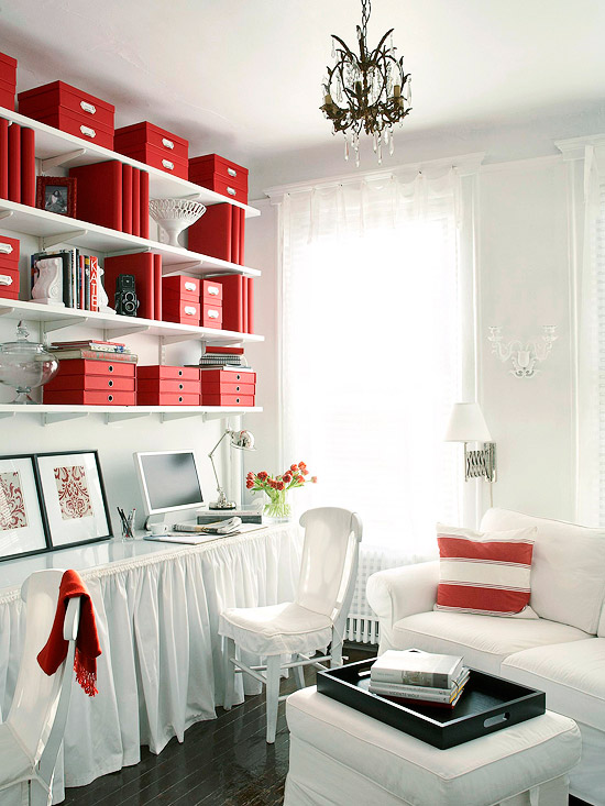 Storage smart family office for Family home storage