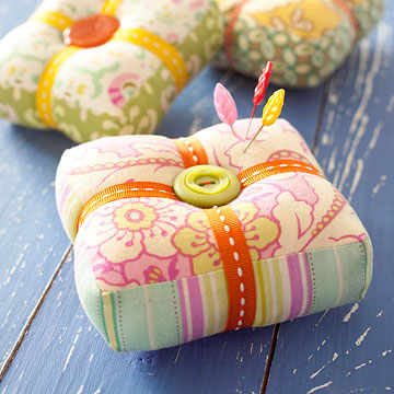 Patchwork Pincushion