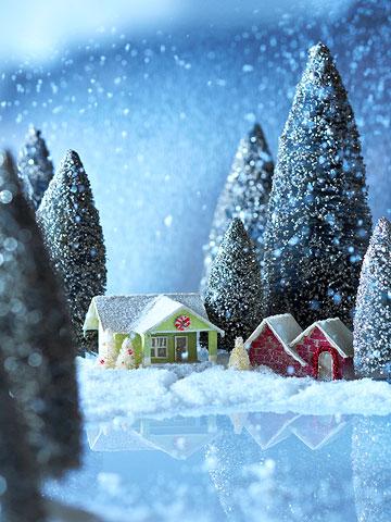 2 Mini Paper Houses
