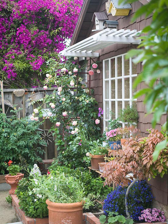 28 Tips For A Small Garden: Landscaping Tips For Small-Space Cottage Gardens