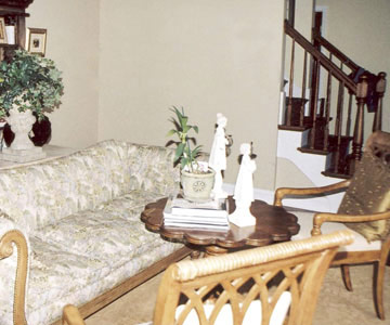 sophisticated living room. Before  Drab Living Room A Cozy and Sophisticated Makeover