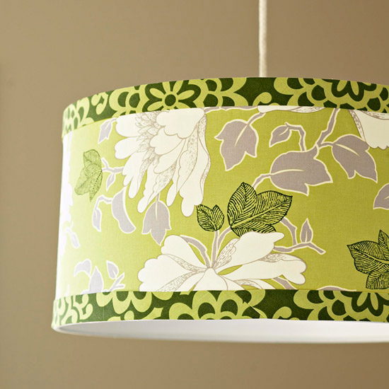 Make a Fabric-Covered Lampshade