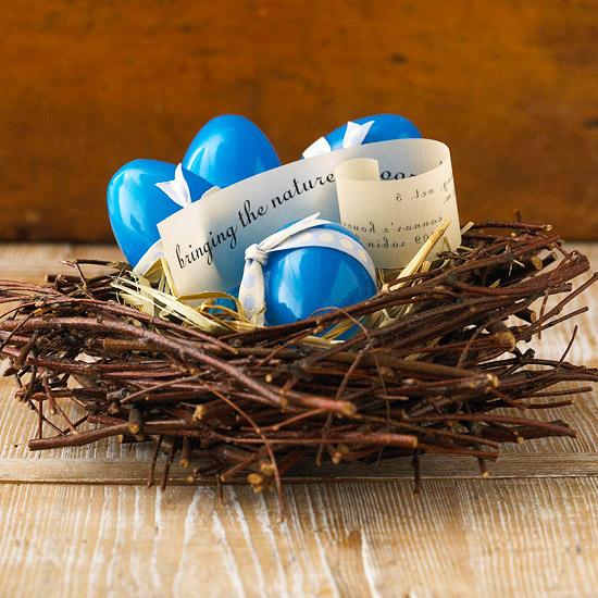 Twig Easter Nest Centerpiece