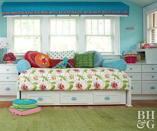 Boat Bed With Trundle And Toy Box Storage: Kids' Storage Solutions