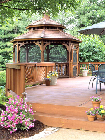 Deck Styles on Sip Home Floor Plans