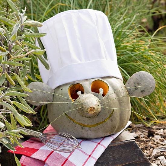 Make a Pumpkin Chef