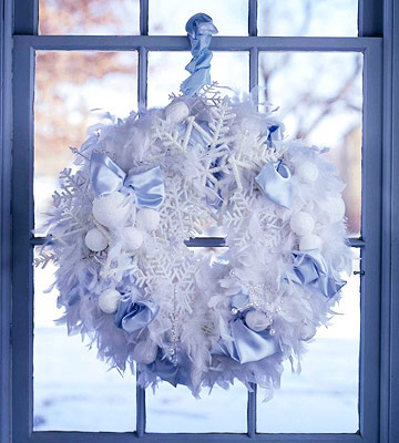 How to Make a Winter Wonderland Wreath