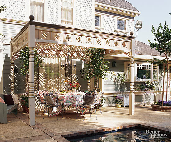 Distinctive Pergola Ideas on pergola designs attached to house