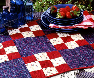The Patriotic Table Runner