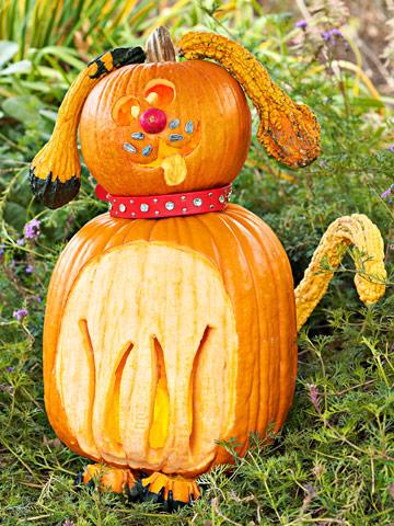 Carve a Cute Pumpkin Puppy
