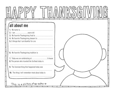 Exclusive Thanksgiving Coloring Pages from BHG