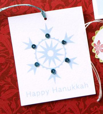 Christmas & Hanukkah Gift Tags from BHG