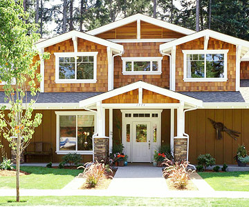 Wood siding a visual guide to siding options for Home exterior options