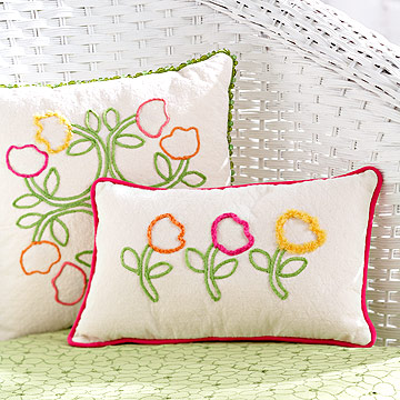 Fresh Tulip Pillows
