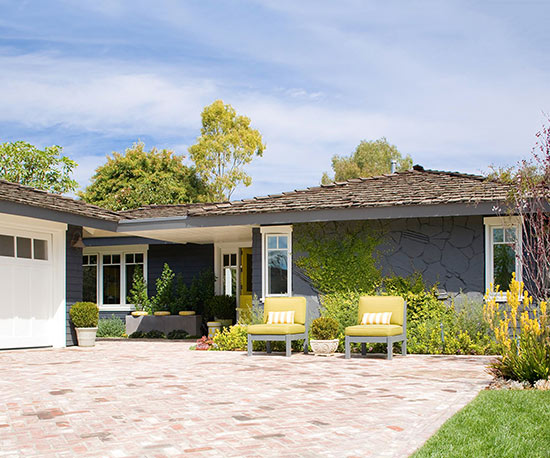 Real home makeover ranch home redo for 70 s ranch exterior makeover