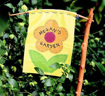 Kids' Garden Banner
