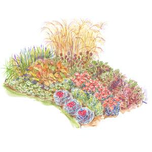 Ordinaire Fall Favorites Garden Plan