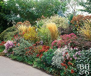 flower garden plans. Low-Water Garden Plan Flower Plans