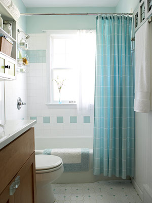 staffers challenge budget bathroom makeovers - Bathroom Makeovers
