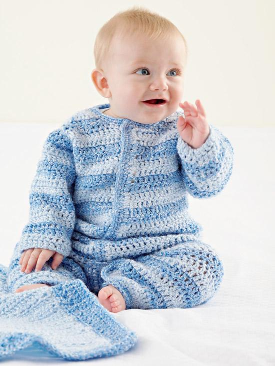 Baby Boy Crochet Onesie Better Homes Gardens