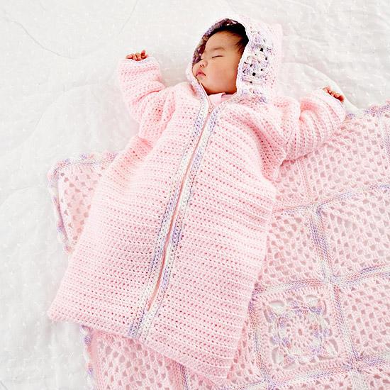 Baby Girl Crochet Bunting Better Homes Gardens