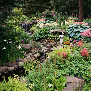 Seven tips for landscape design for beginners for Garden sit out designs