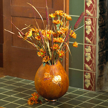 Make an Elegant Thanksgiving Decoration from Gourds